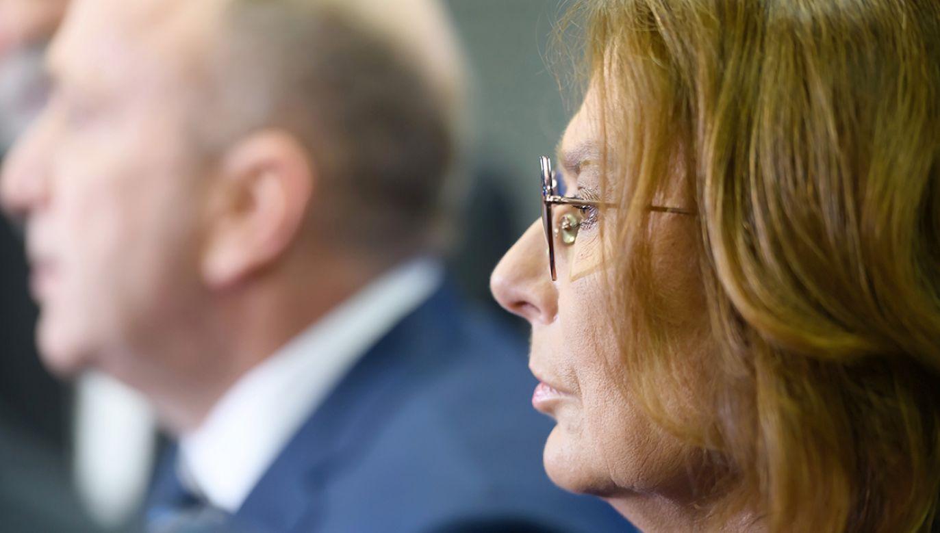 Nie brak w partii osób, które uważają się za lepszych kandydatów od Małgorzaty Kidawy-Błońskiej (fot. PAP/Jakub Kaczmarczyk)