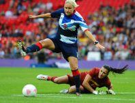 Najlepsza ósemka piłkarskiego turnieju  kobiet