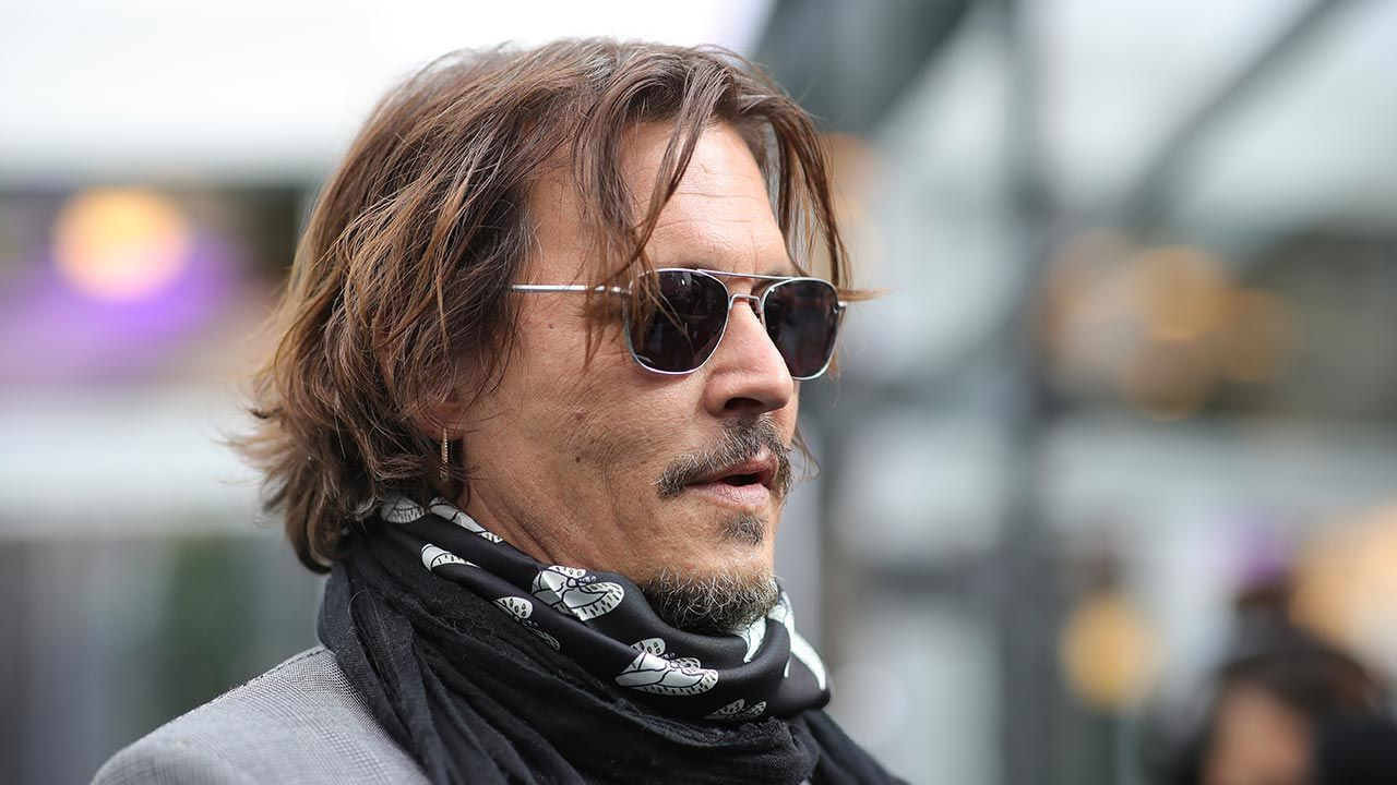 Johnny Depp (fot. Andreas Rentz/Getty Images for ZFF)