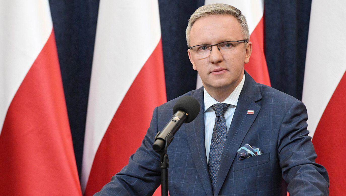 Krzysztof Szczerski (fot. arch. PAP/Radek Pietruszka)