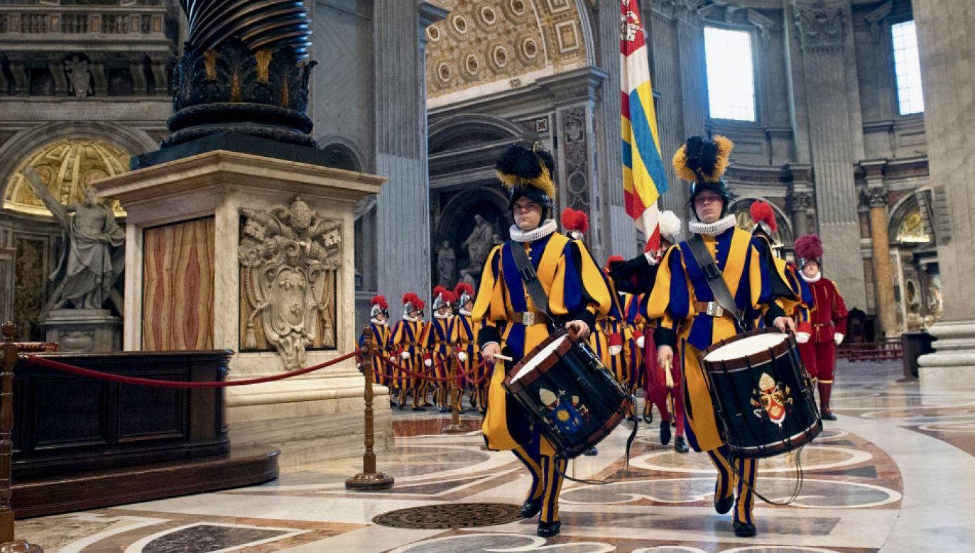 6 maja to święto dla całego Watykanu (fot. Vatican Pool/Getty Images)
