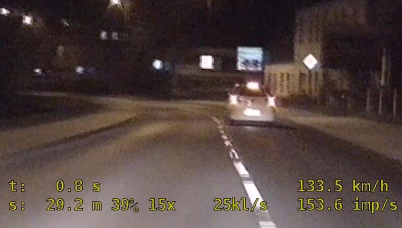 Policja publikuje wideo i apeluje do kierowców o rozwagę (fot. Policja Dolnośląska)
