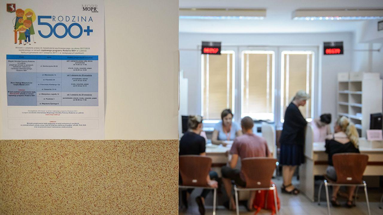 1 sierpnia weszła w życie ustawa, która ma uszczelnić system przyznawania świadczeń (fot. arch.PAP/Wojciech Pacewicz)