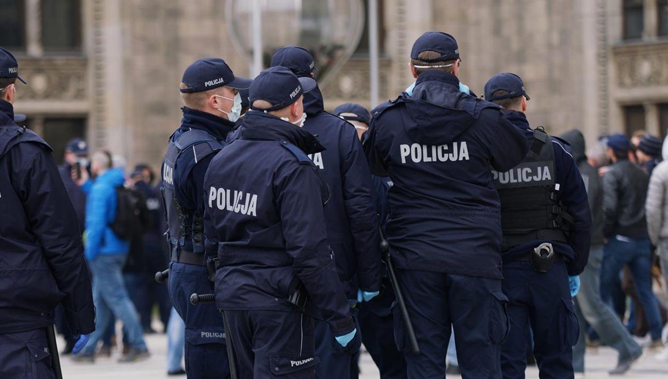 Jak informuje katowicka policja, zabezpieczono monitoring; dwie osoby zostały zatrzymane (fot. Shutterstock/CameraCraft)