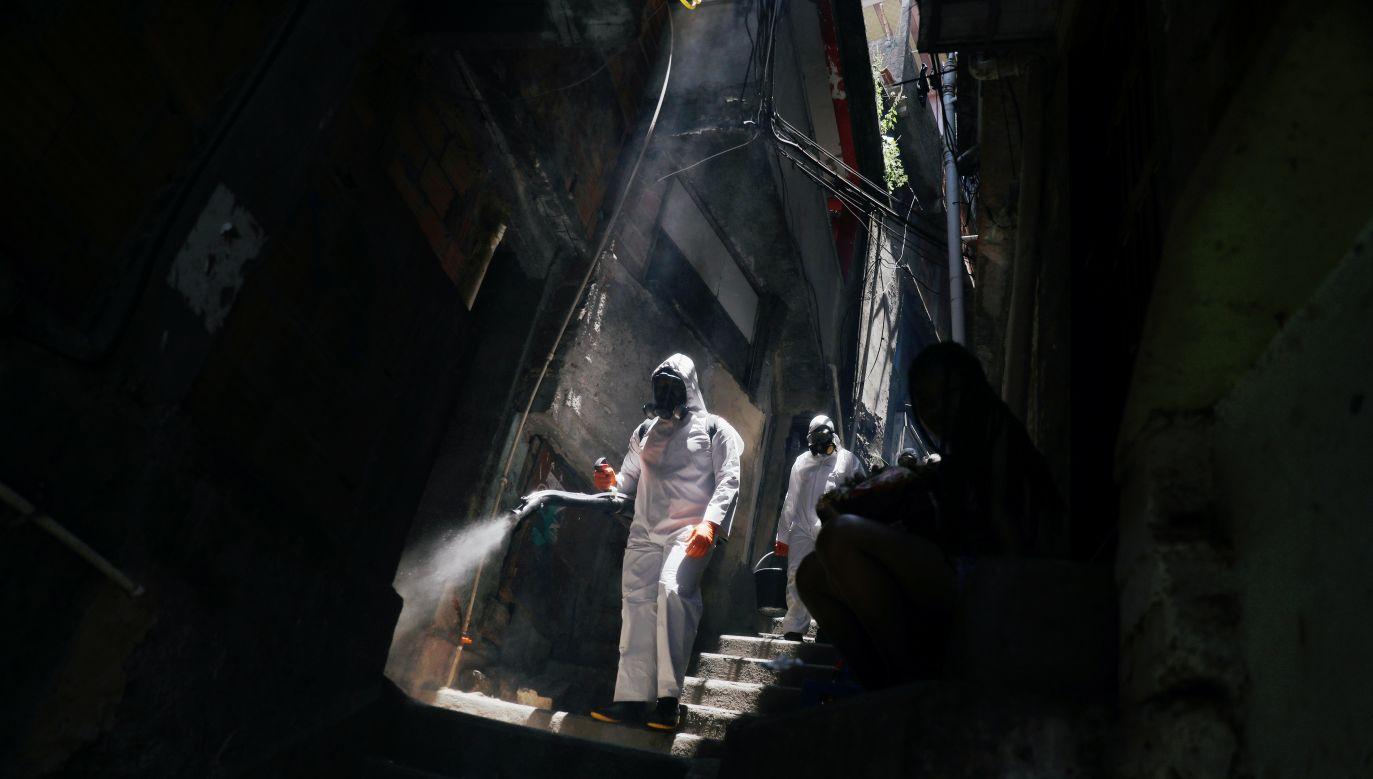 Ponad 6 mln zakażeń koronawirusem w Brazylii (fot. Reuters)