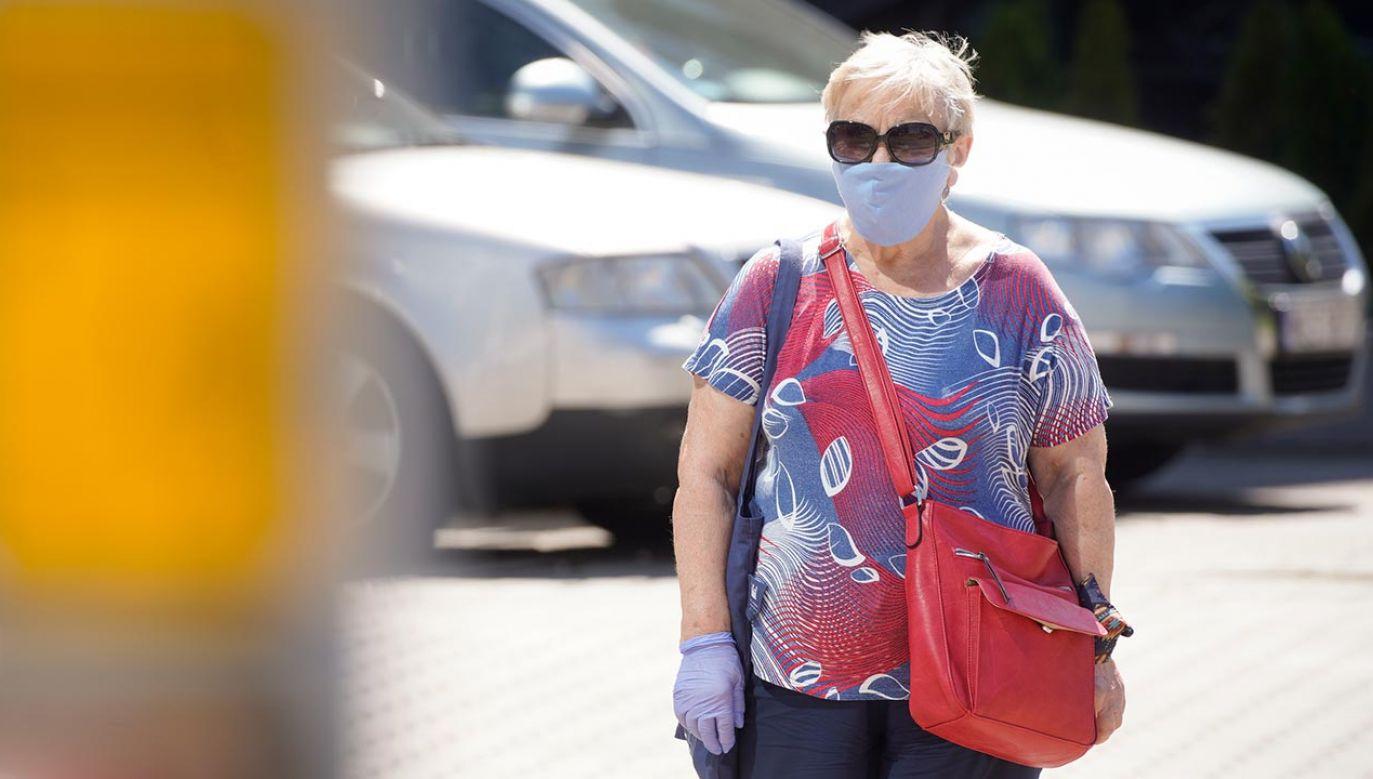 Najmniejszy dobowy przyrost zakażeń koronawirusem od początku maja (fot. Jaap Arriens/NurPhoto via Getty Images)