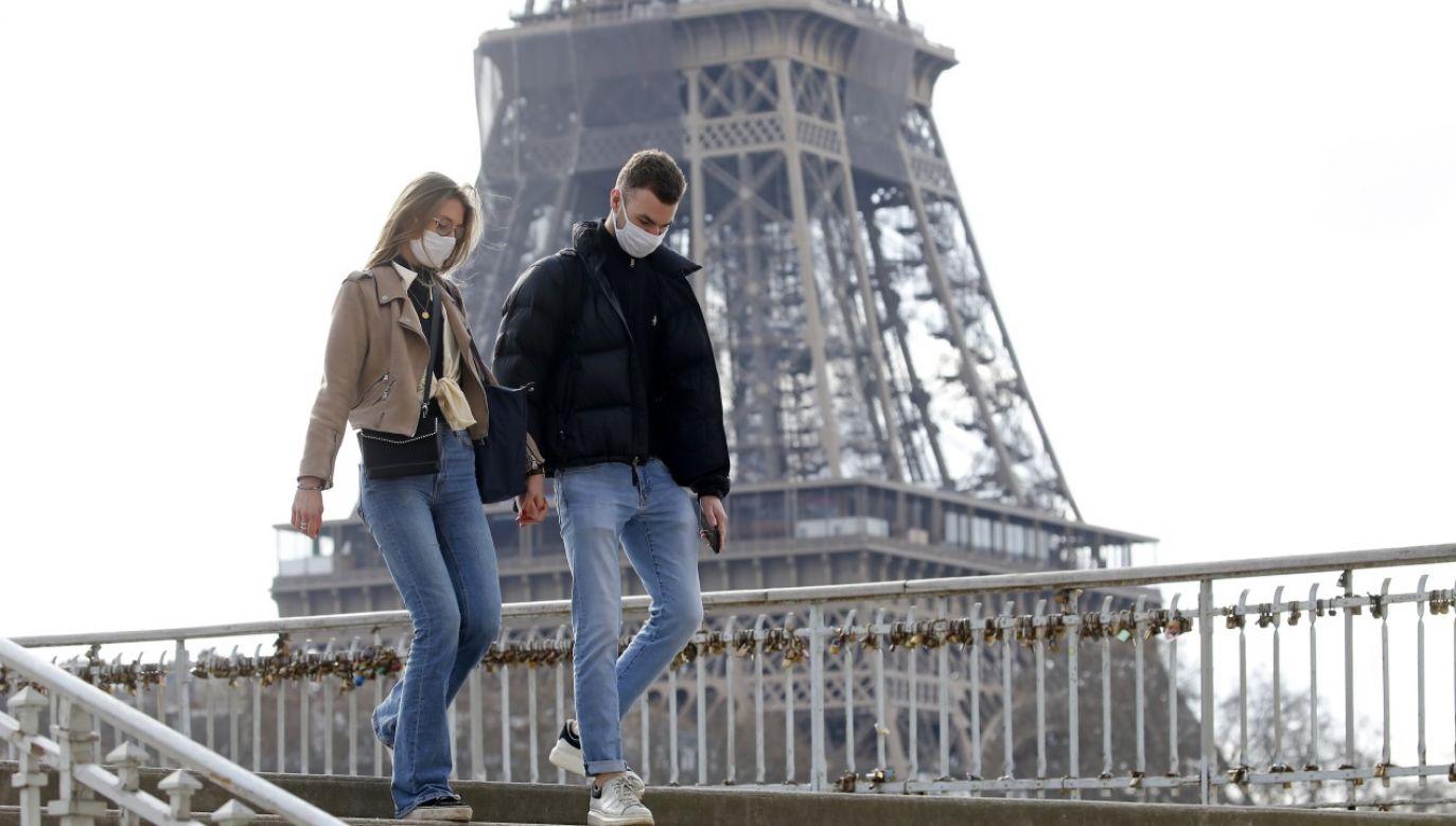 """Wicemer Paryża Emmanuel Gregoire uważa weekendowe lockdowny za """"zbyt mało skuteczne narzędzie"""" (fot. Chesnot/Getty Images)"""