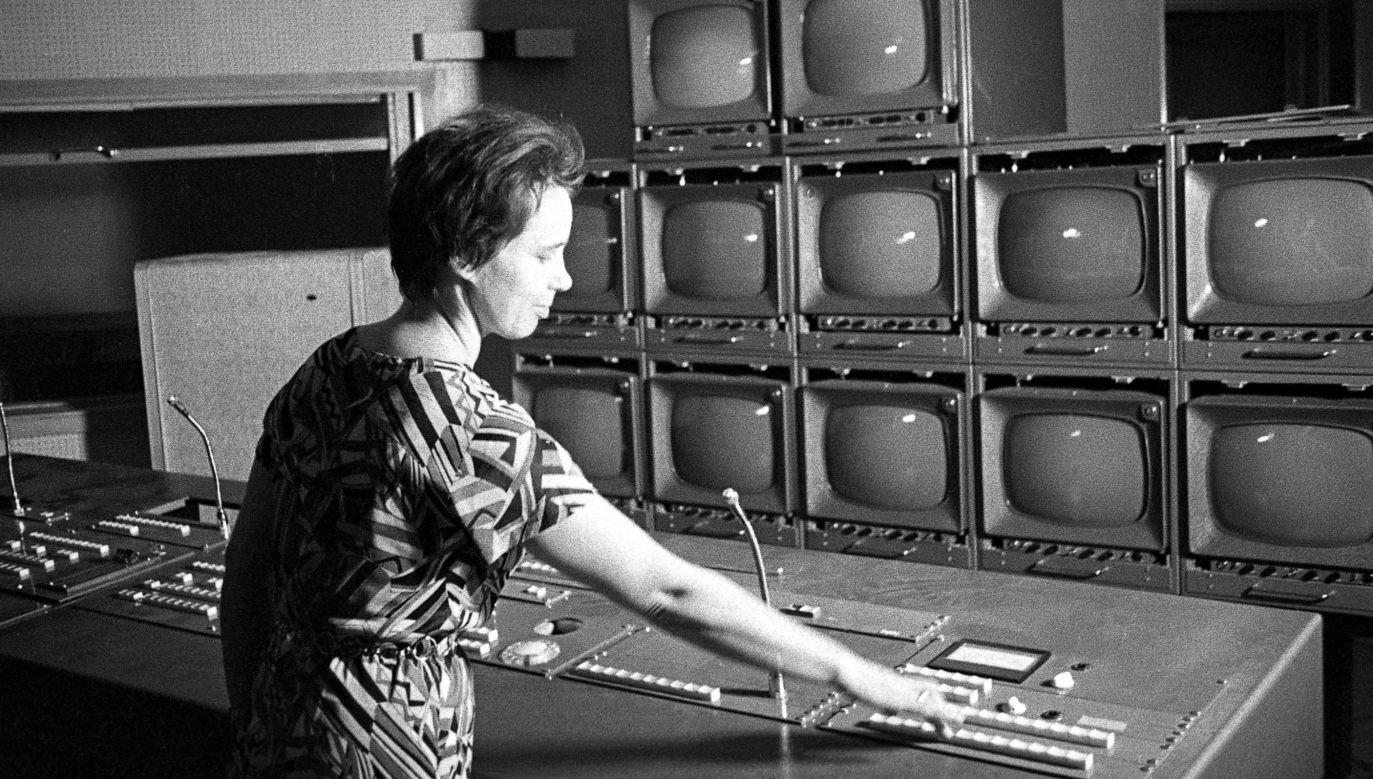 Nowootwarta siedziba TVP przy ul. Woronicza 17 w Warszawie w roku 1969. Fot. TVP/M. Stankiewicz