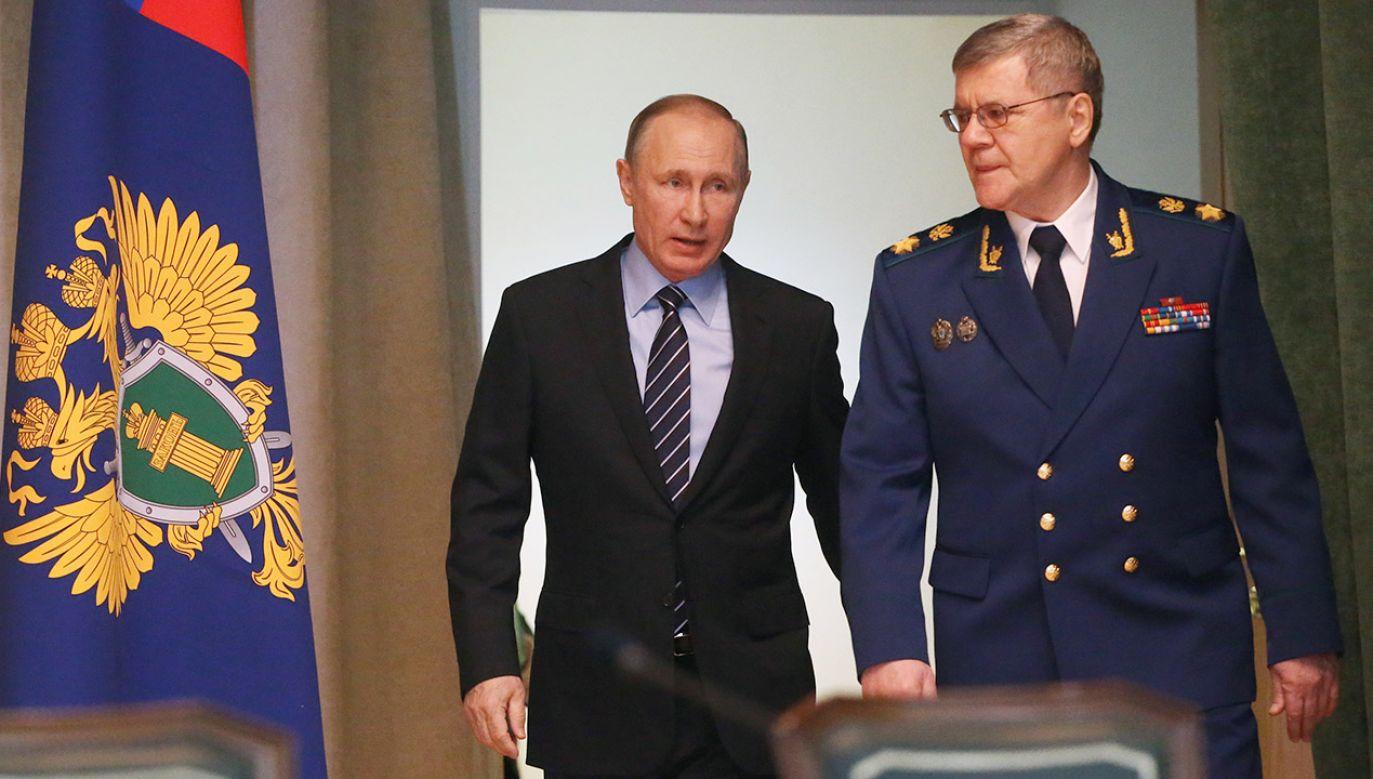 Jurij Czajka w przeszłości był także ministrem sprawiedliwości – w latach 1999-2006 (fot.  Mikhail Svetlov/Getty Images)