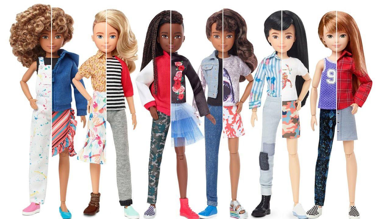 Barbie tej serii nie mają pełnych ust, długich rzęs, szczupłej talii (fot. Mattel)