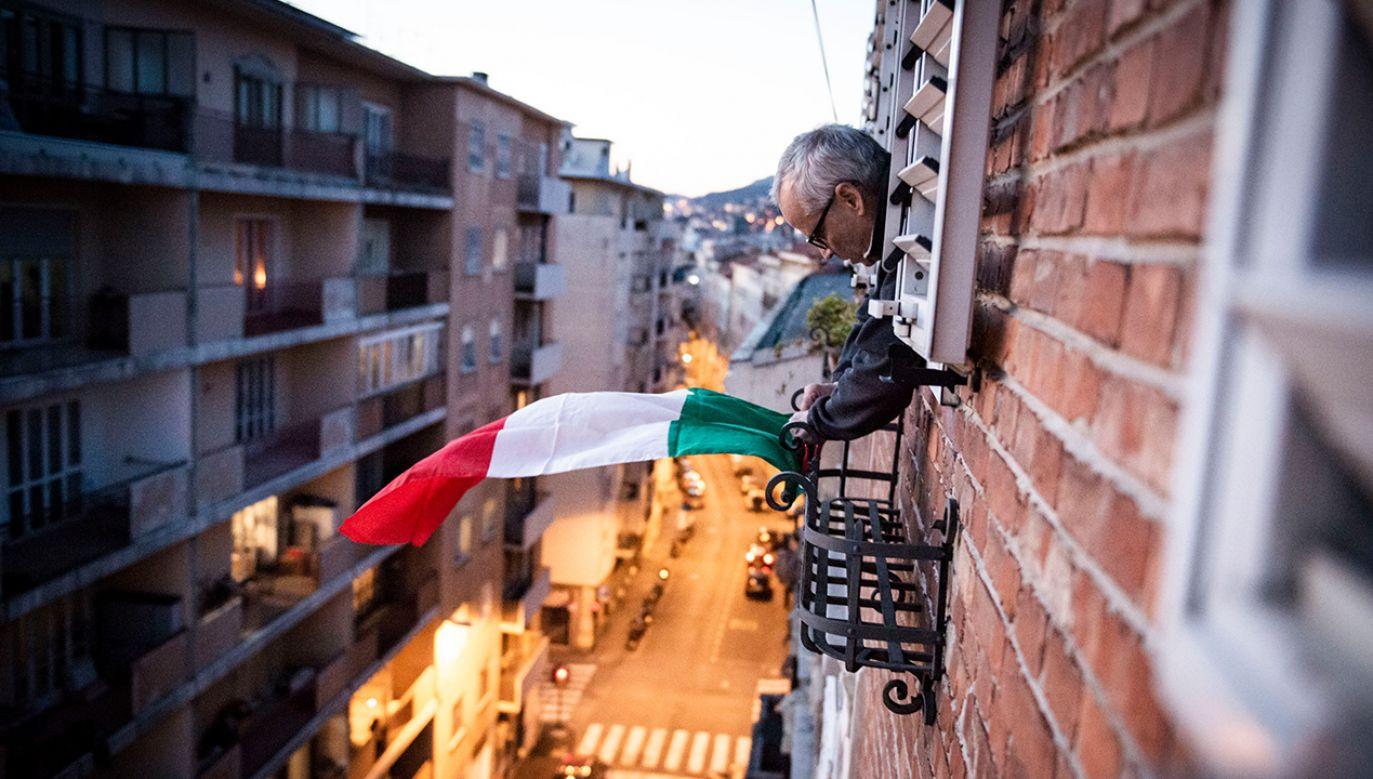 Internet podbijają filmy z pomysłowymi mieszkańcami Włoch (fot. Jacopo Landi/NurPhoto via Getty Images)