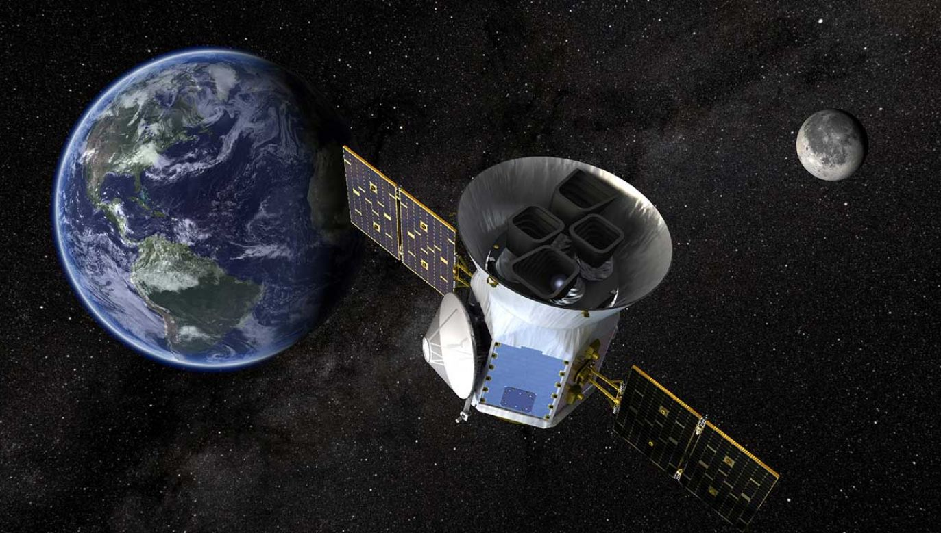 Satelita TESS znalazła trzy nowe egzoplanety (fot. REUTERS/NASA's Goddard Space Flight Center)