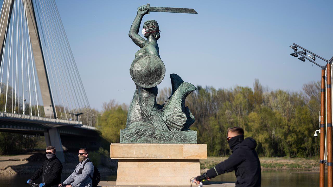 Na Mazowszu najniższy dobowy przyrost zakażeń od połowy marca (fot. Attila Husejnow/SOPA Images/LightRocket via Getty Images)