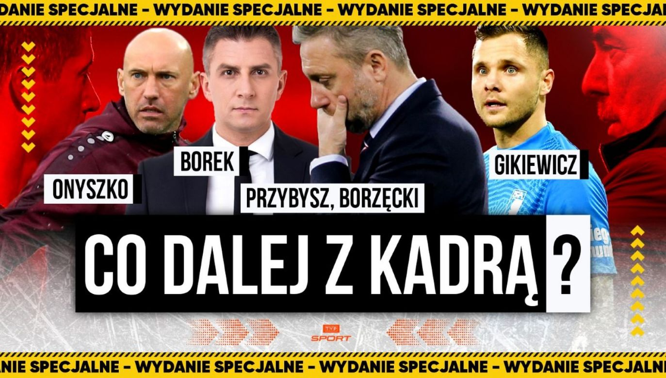 Co dalej z kadrą? Program specjalny na kanale YouTube TVP Sport (fot. TVP)