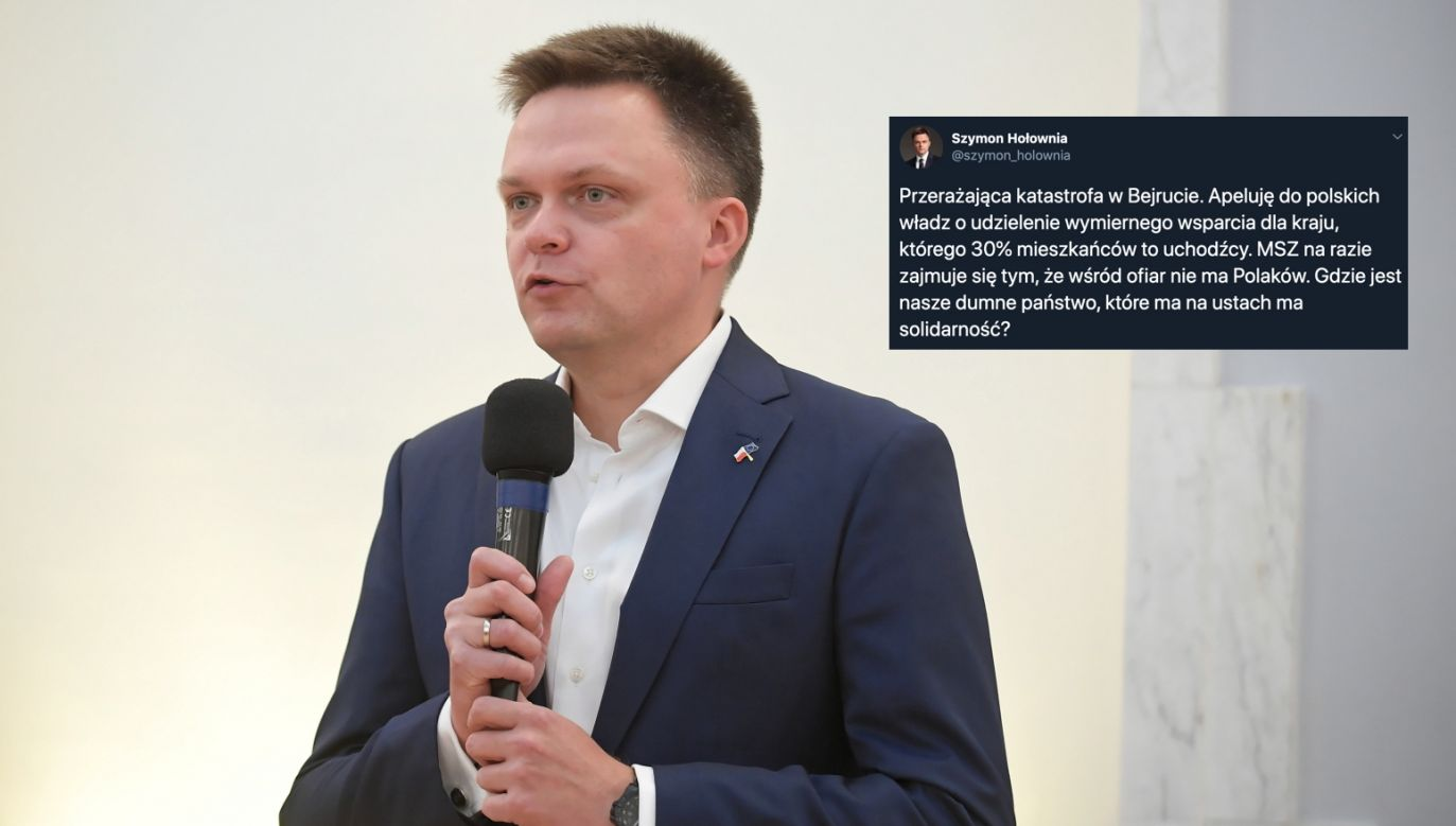 Szymon Hołownia (fot. PAP/Marcin Obara)