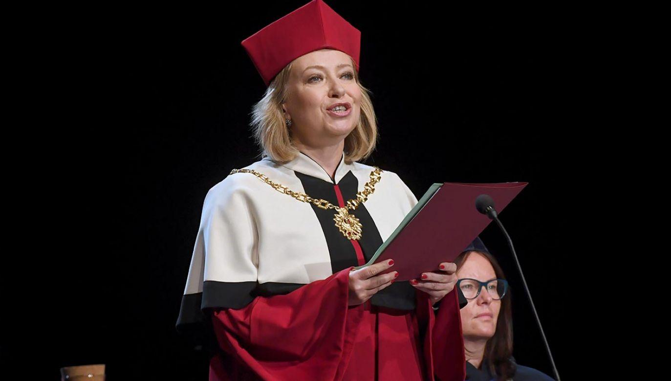 Dorota Segda jest absolwentką krakowskiej AST – wcześniej PWST (fot. PAP/Jacek Bednarczyk)