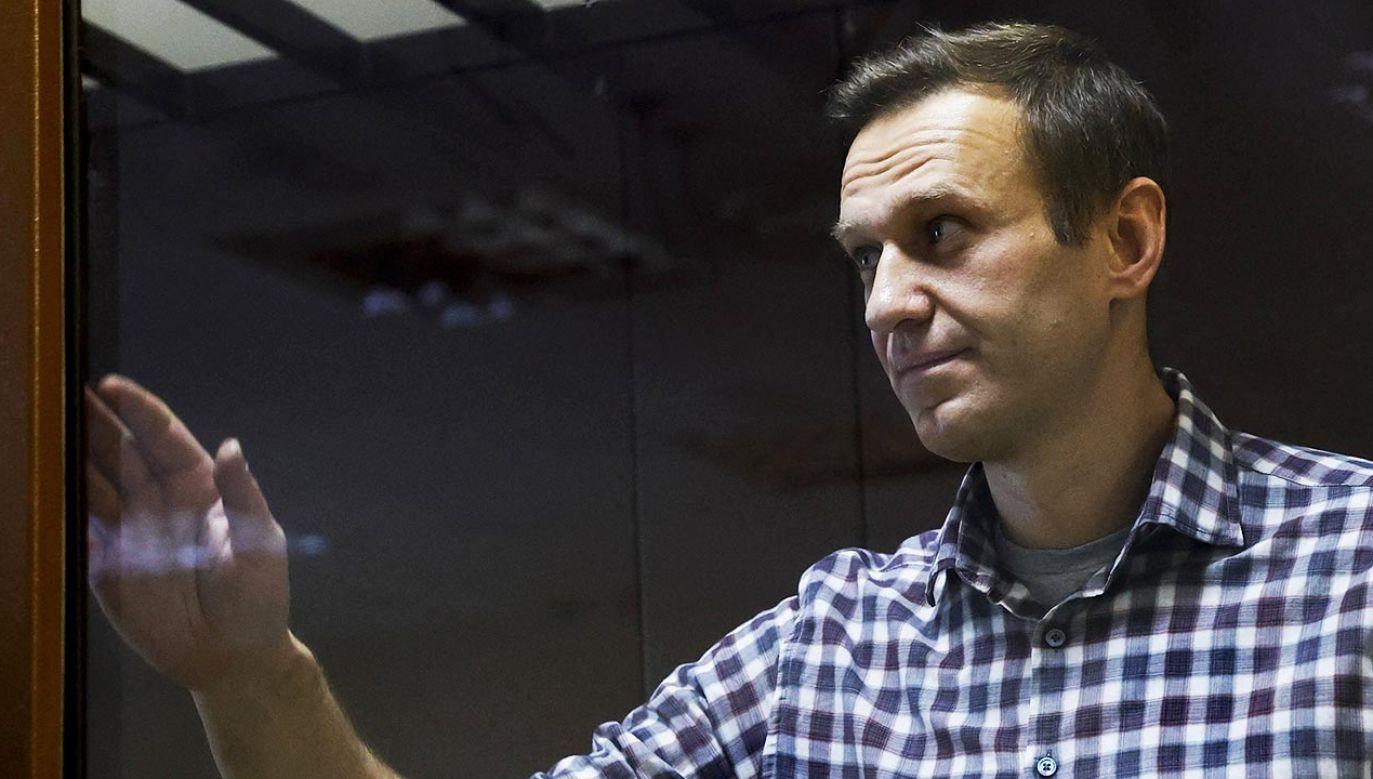 Aleksiej Nawalny złożył dwa pozwy przeciwko kolonii karnej (fot.  Sefa Karacan / Anadolu Agency/ABACAPRESS.COM)