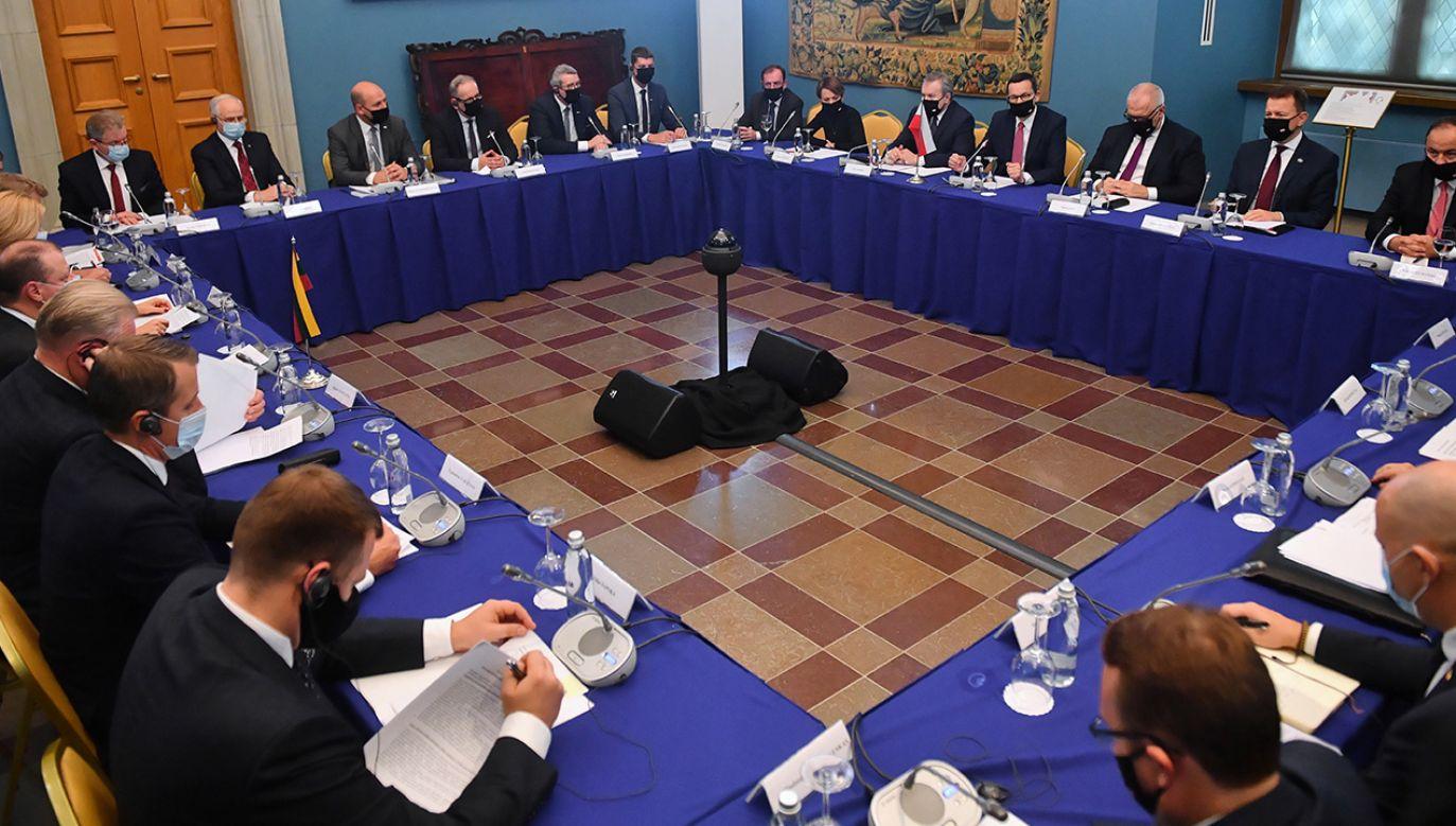 W Wilnie odbywają się polsko-litewskie konsultacje międzyrządowe (fot. PAP/Radek Pietruszka)