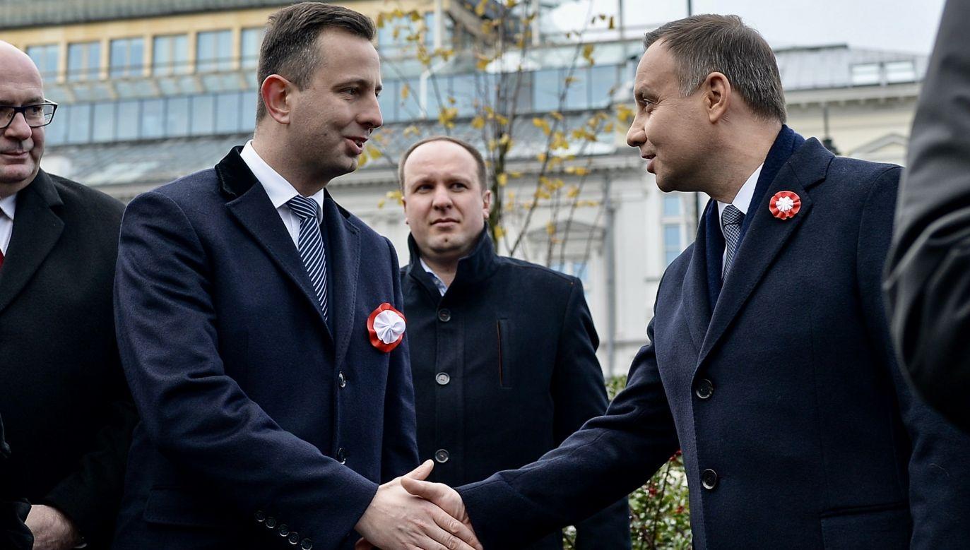 Zdaniem szefa PSL, Duda podczas swojej kadencji uczestniczył w podziale Polski. (fot. arch.PAP/Marcin Obara)