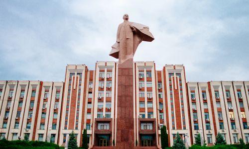 Siedziba władz Naddniestrza (fot. Kuba Głębicki)