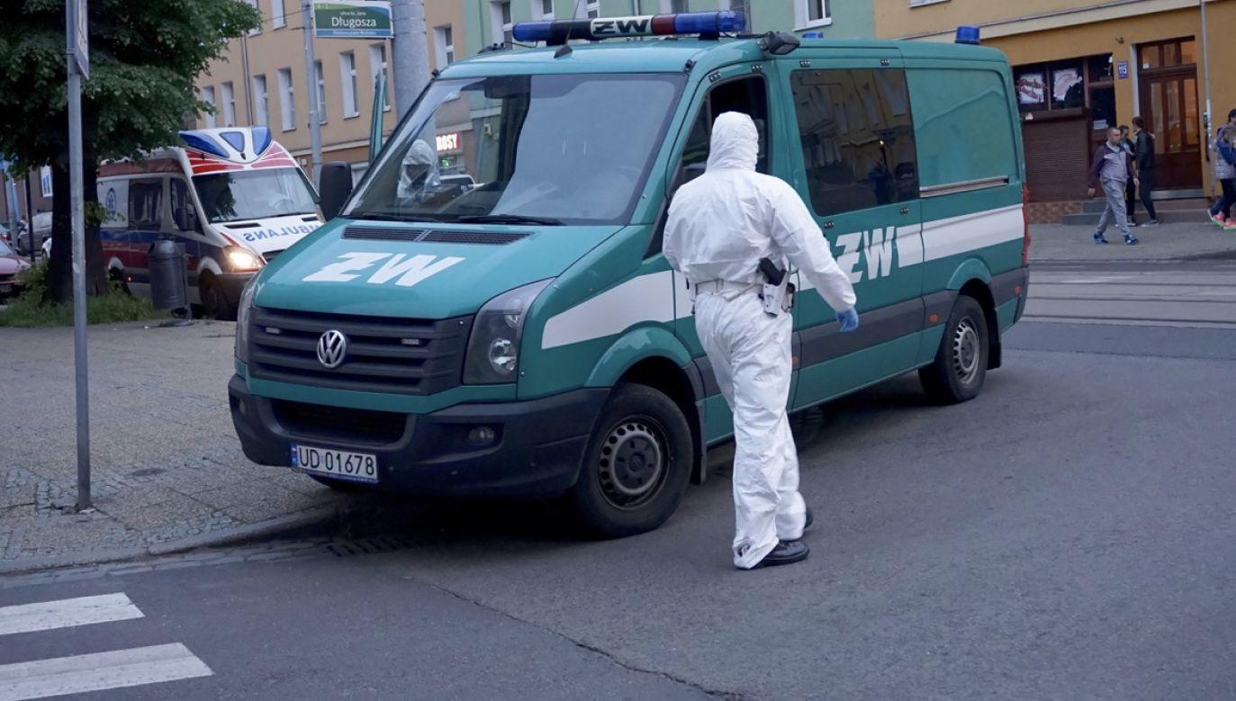 MON wyjaśnia, z czego wynika obecność żandarmerii (fot. arch.PAP/Marcin Bielecki)