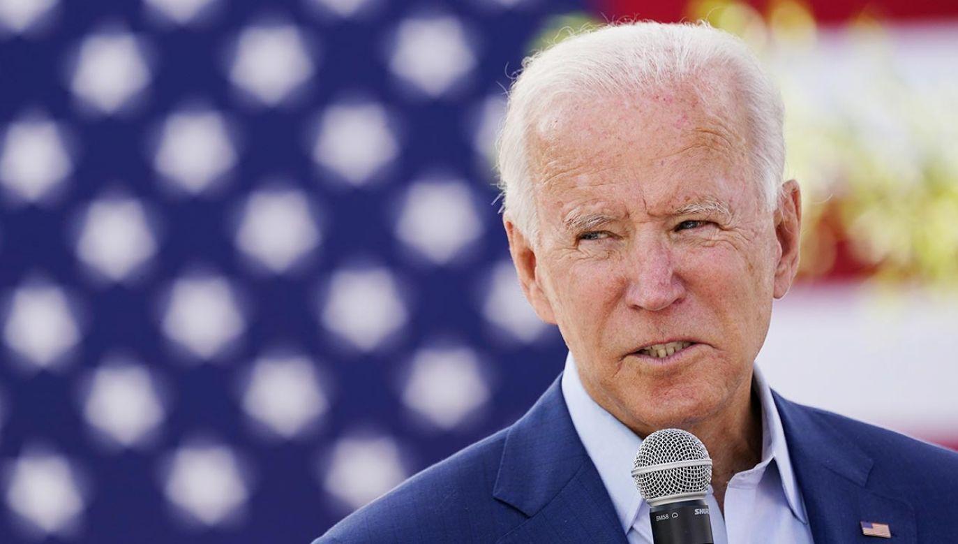 Joe Biden (fot. REUTERS/Kevin Lamarque)