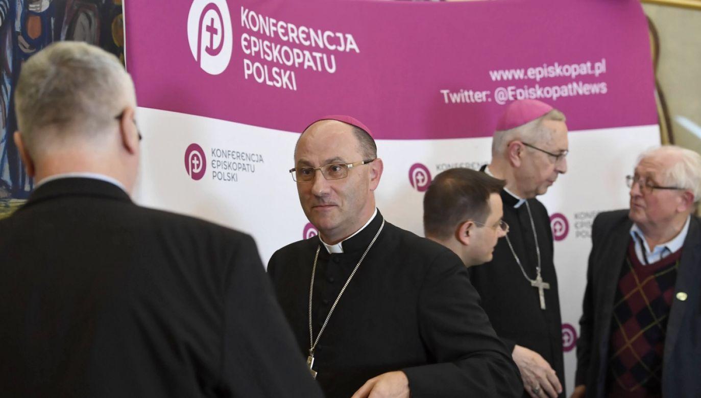 Obrady są prowadzone przez abp Stanisława Gądeckiego. (fot. arch.PAP/Piotr Nowak)