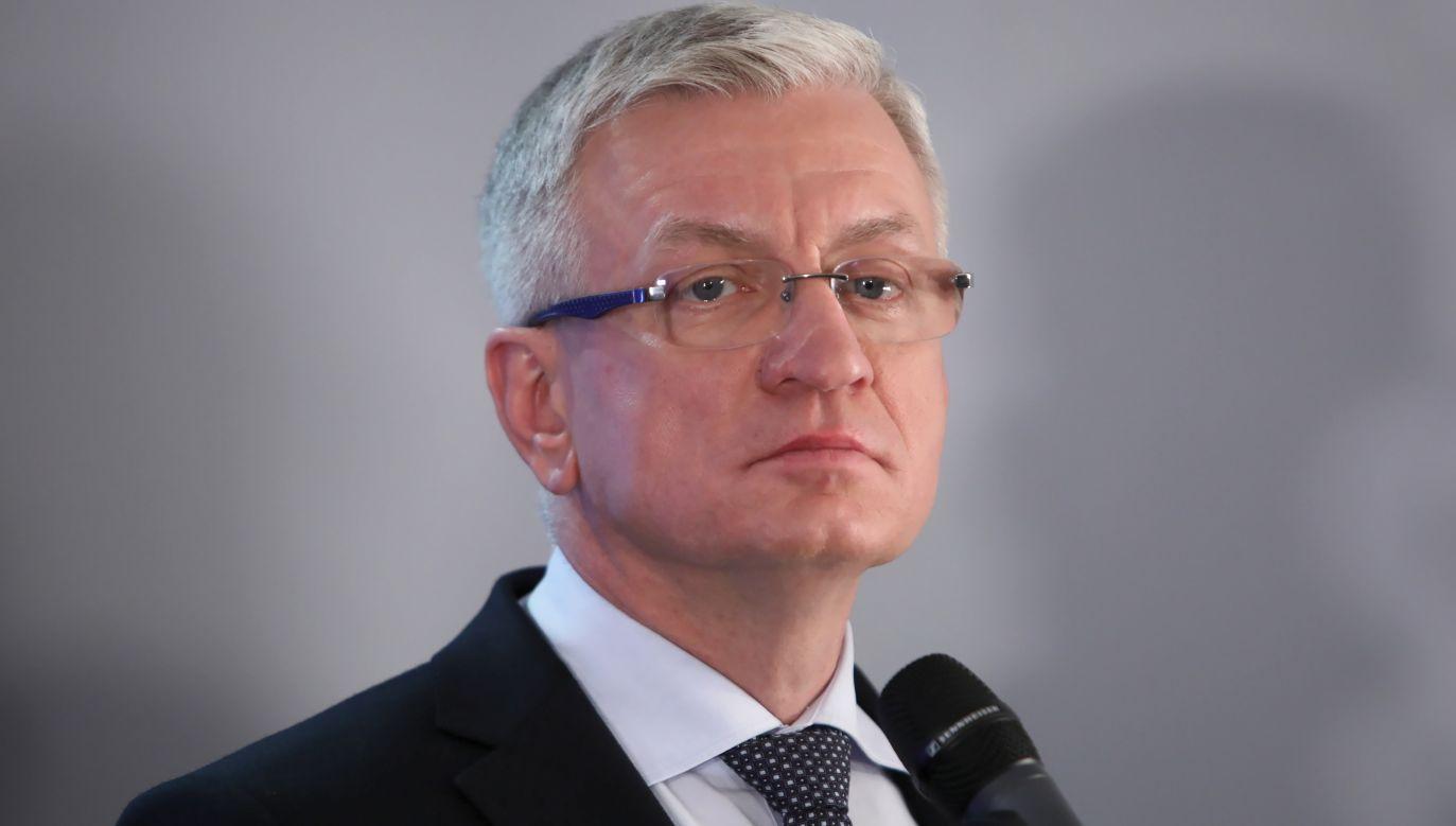 Prezydent Poznania Jacek Jaśkowiak kandyduje w prawyborach w PO (fot.PAP/Leszek Szymański)