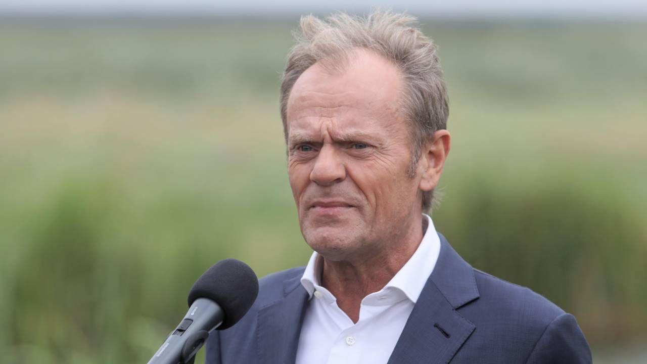 Tusk karci swoich polityków (fot. PAP/Artur Reszko)