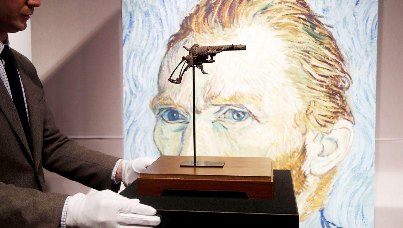 Van Gogh pożyczył rewolwer od właściciela zajazdu, w którym mieszkał przed śmiercią (fot. REUTERS/Charles Platiau)