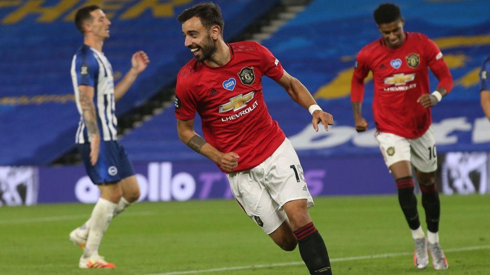 Manchester United z kolejnym pewnym zwycięstwem. Dwa gole Bruno Fernandesa (relacja)