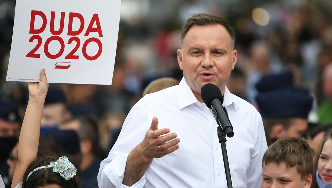 Wybory prezydenckie 2020 (fot. PAP/Tytus Żmijewski)