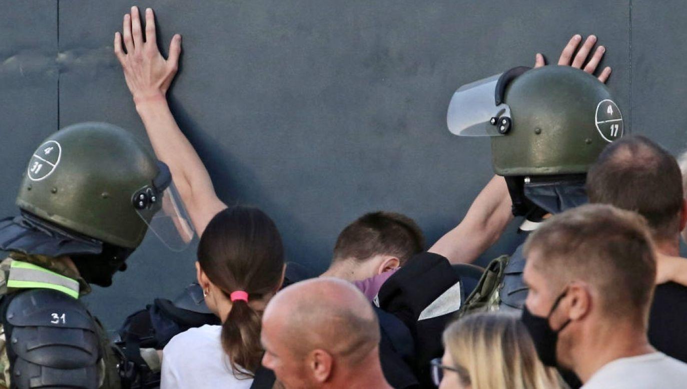 Krzysztof Bosak nie chciał komentować wypowiedzi Malińskiego (fot. Natalia Fedosenko\TASS via Getty Images)