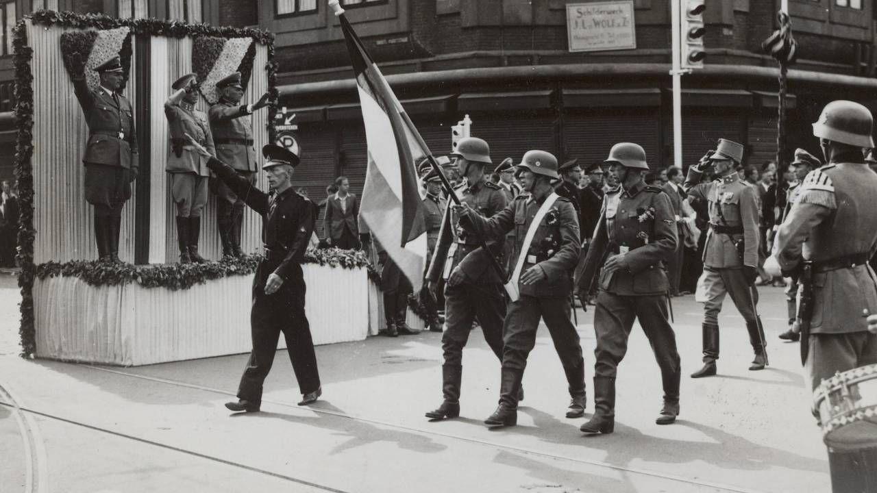 W Waffen-SS służyło około 50 tysięcy Holendrów (fot. Nationaal Archief)