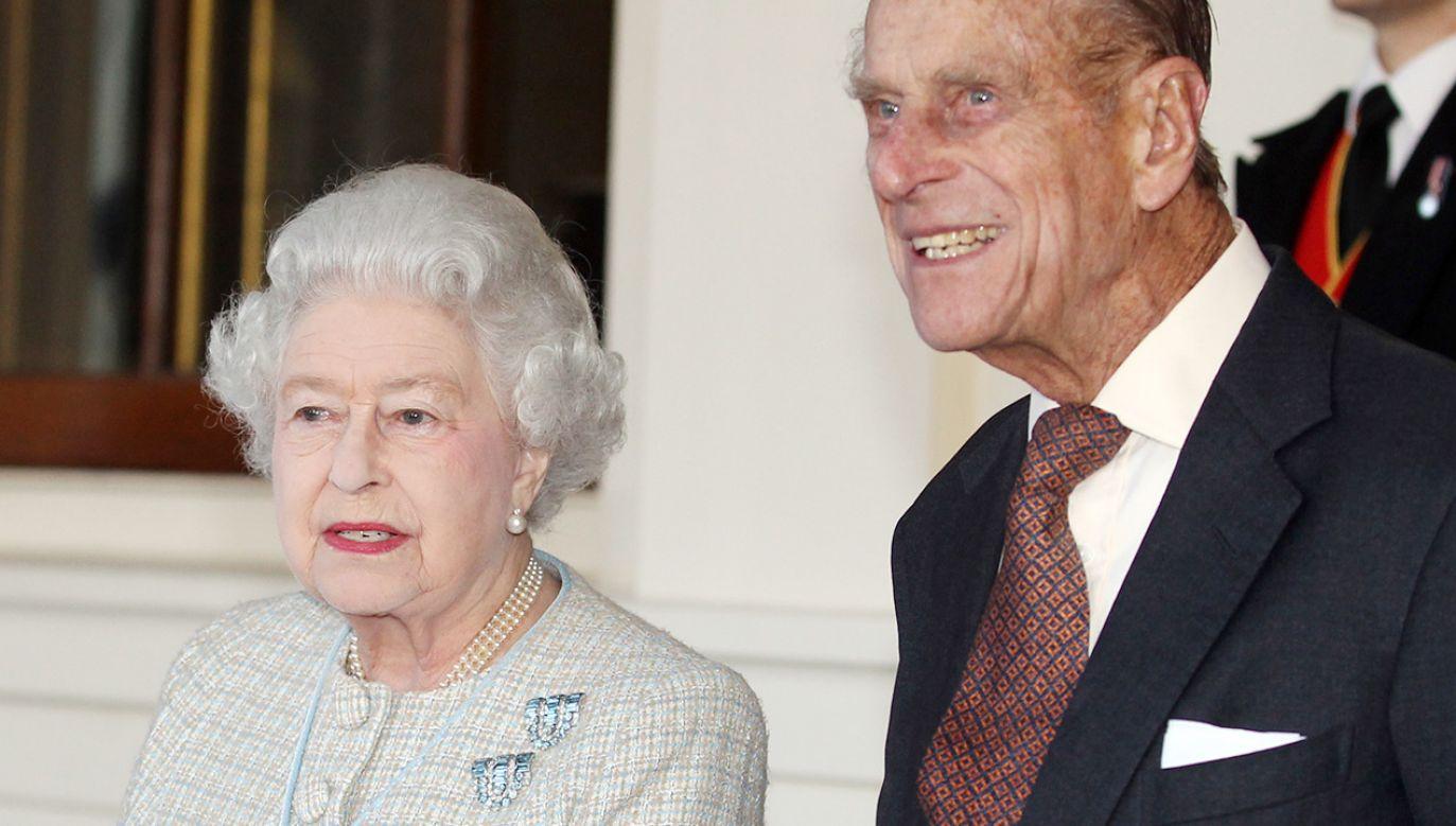 Królowa Elżbieta II i Książę Filip (fot. Lewis Whyld - WPA Pool/Getty Images)