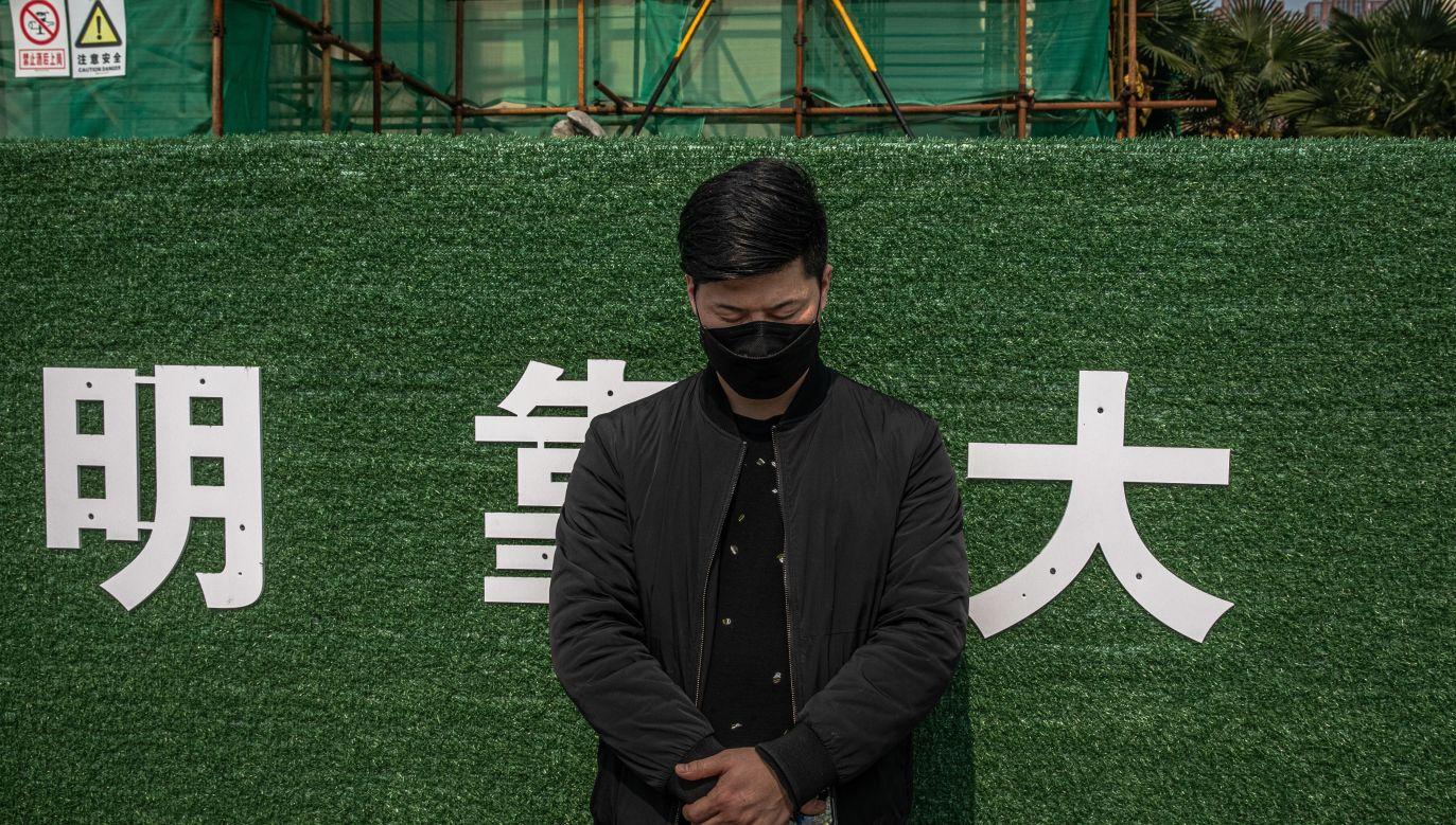 Epidemia zaczęła się w chińskim Wuhan (fot.PAP/EPA/ROMAN PILIPEY)