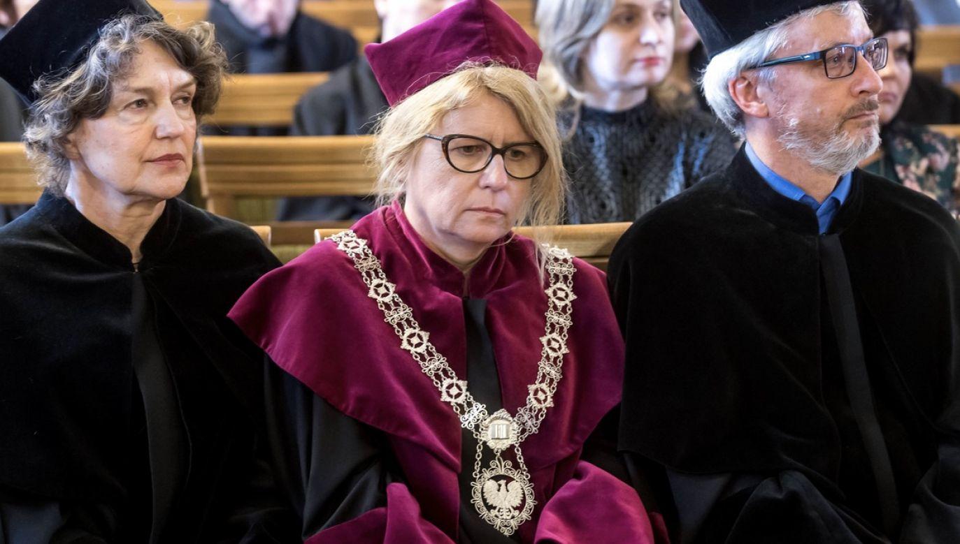 Prof. dr hab. Bogumiła Kaniewska, Uniwersytet im. Adama Mickiewicza (C) (fot. arch.PAP/Tytus Żmijewski)