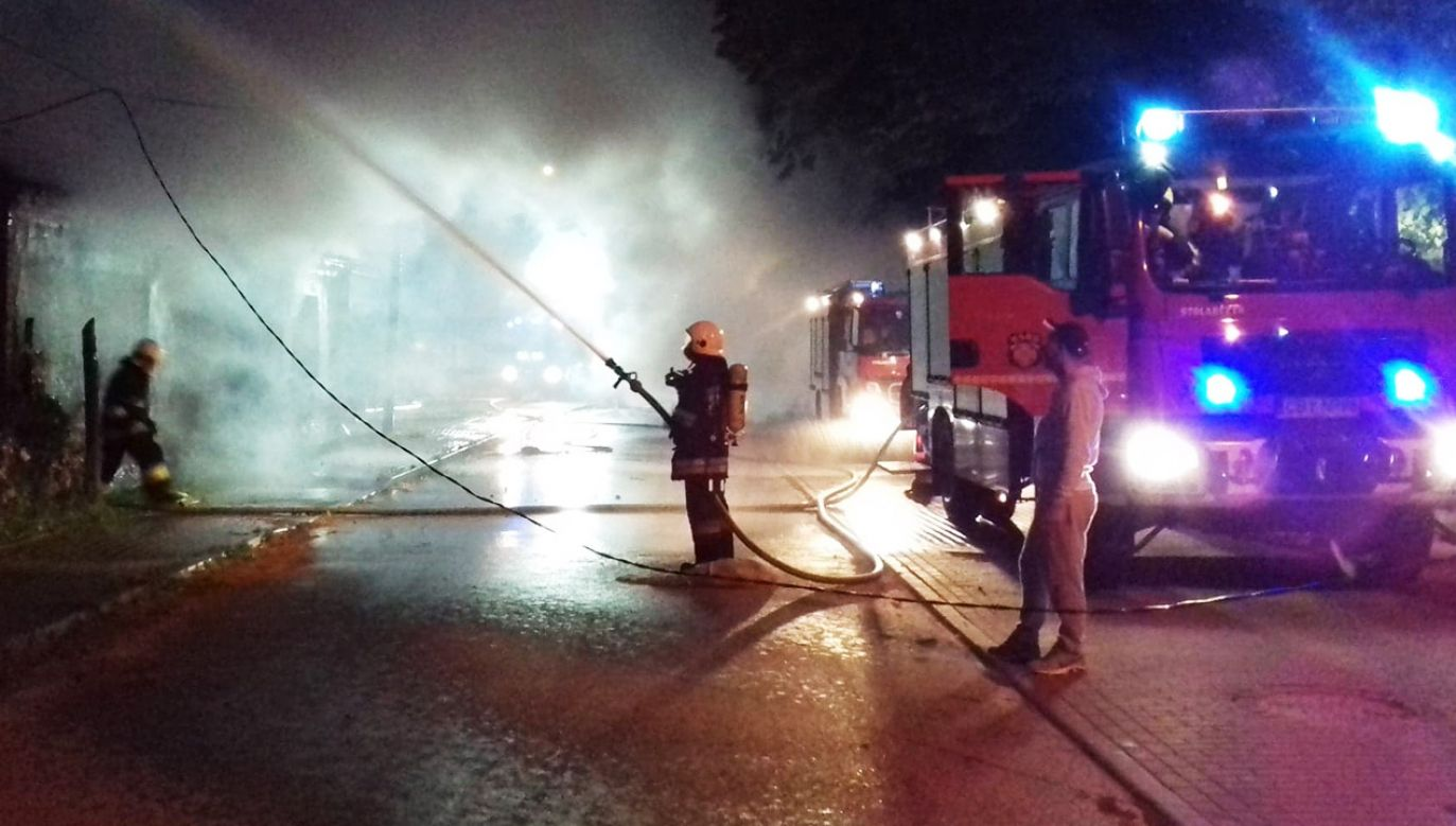 Do pożarów doszło 30 czerwca i 7 lipca 2019 roku (fot. OSP KSRG Mąkowarsko)