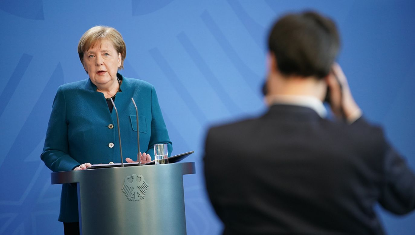 Kanclerz Niemiec Angela Merkel (fot. Clemens Bilan - Pool/Getty Images)