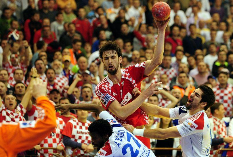 Marko Kopljar był jednym z najskuteczniejszych Chorwatów (fot.PAP/EPA)