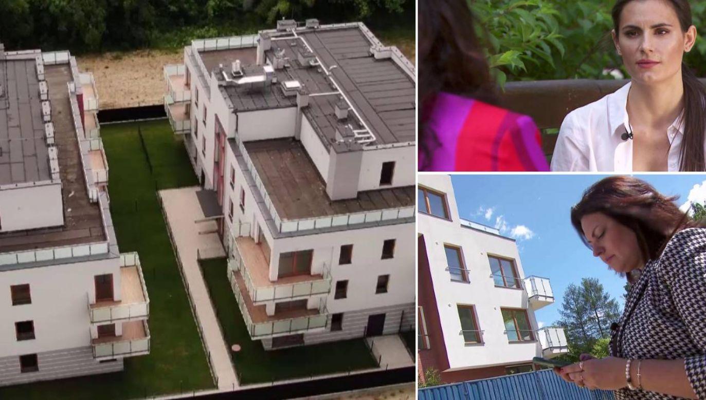 Ludzie nie mają domów, ani pieniędzy (fot. TVP1)