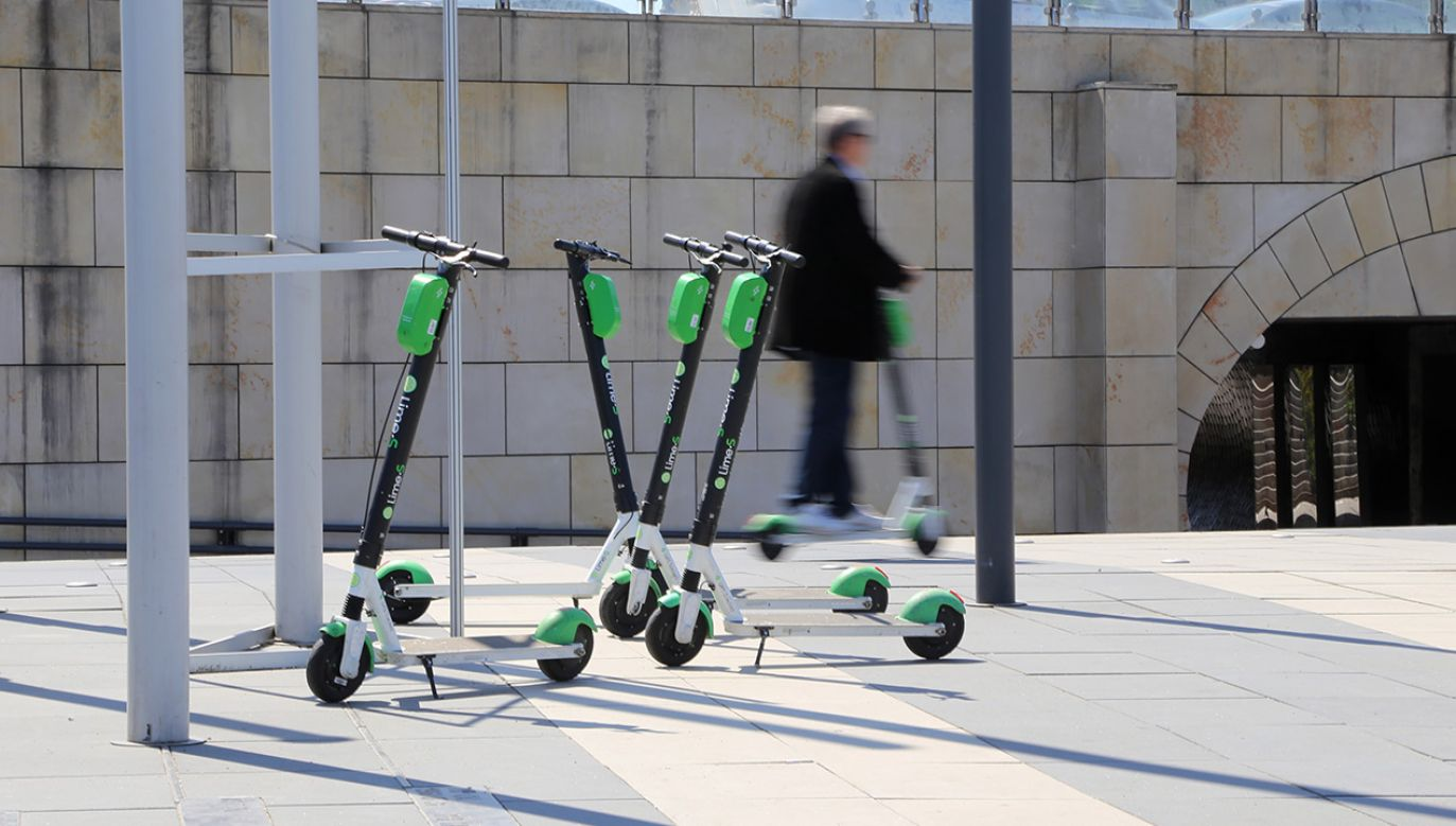 Hulajnogi elektryczne doczekały się oddzielnych przepisów (fot. Shutterstock)