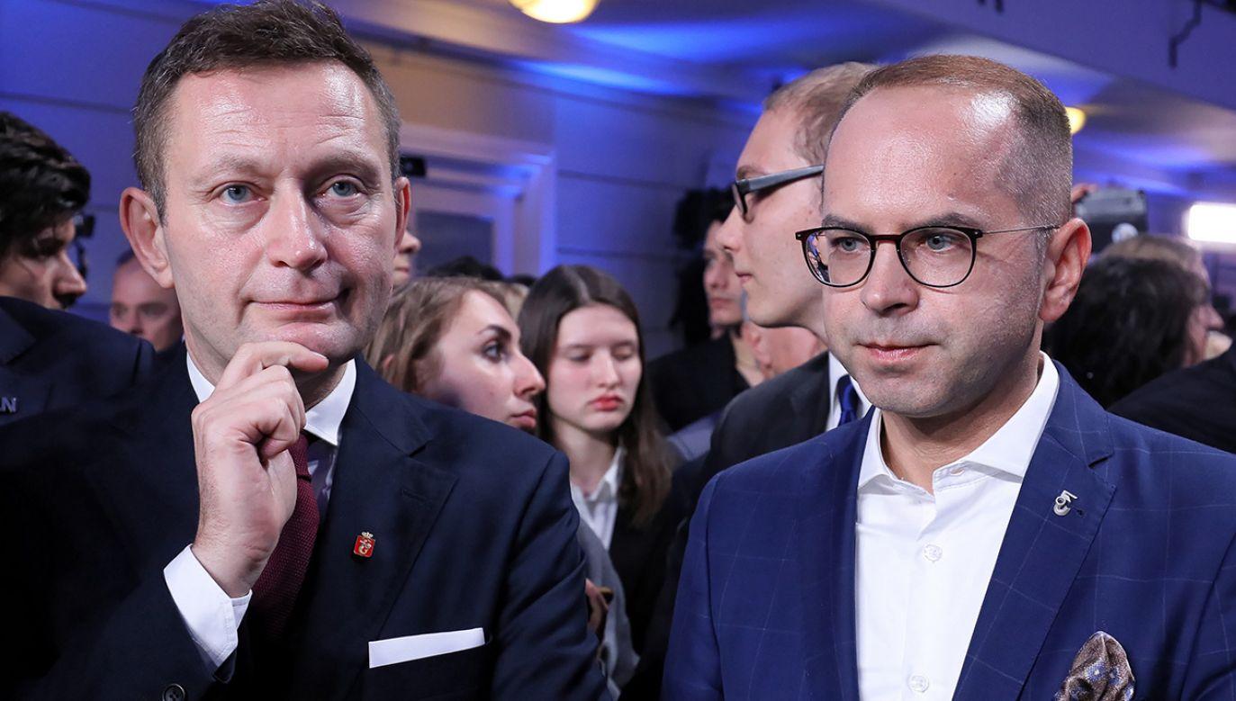 Jak poinformowała PKW, w niedzielnych wyborach do Sejmu Koalicja Obywatelska uzyskała wynik 27,40 proc. (fot. PAP/Paweł Supernak)