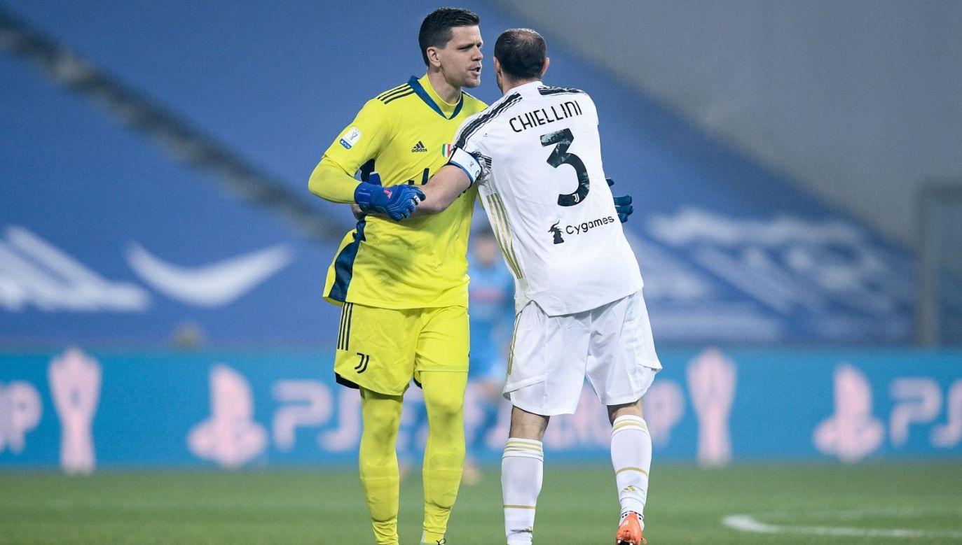 Wojciech Szczęsny i Giorgio Chiellini (fot. Getty Images)