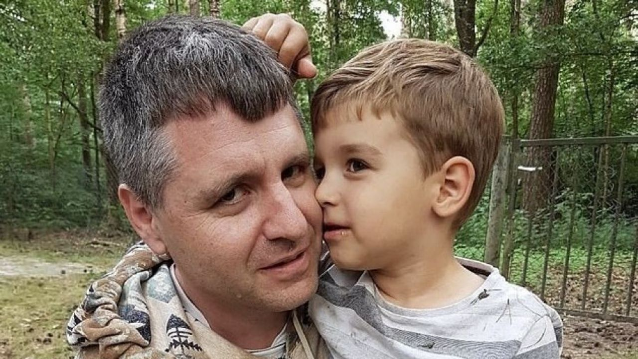 Ojciec Conrad z synem Martinem (fot. Archiwum rodzinne)