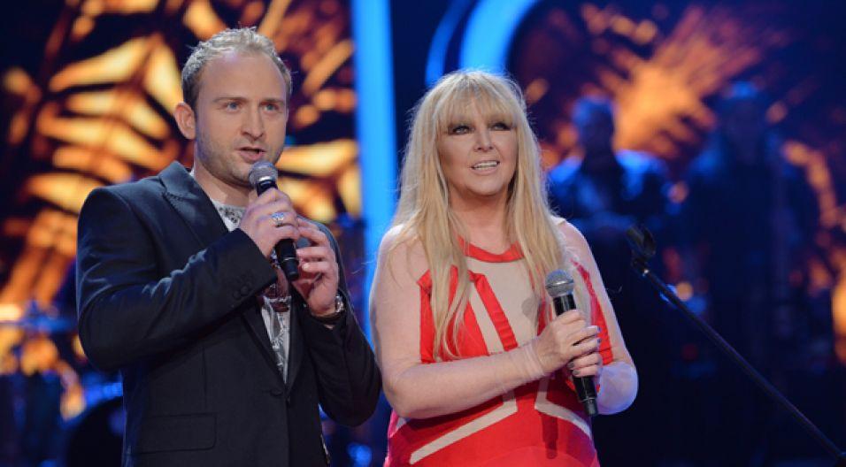Maryla Rodowicz oraz Borys Szyc otworzyli drugą część opolskiego festiwalu... (fot. I. Sobieszczuk/ TVP)