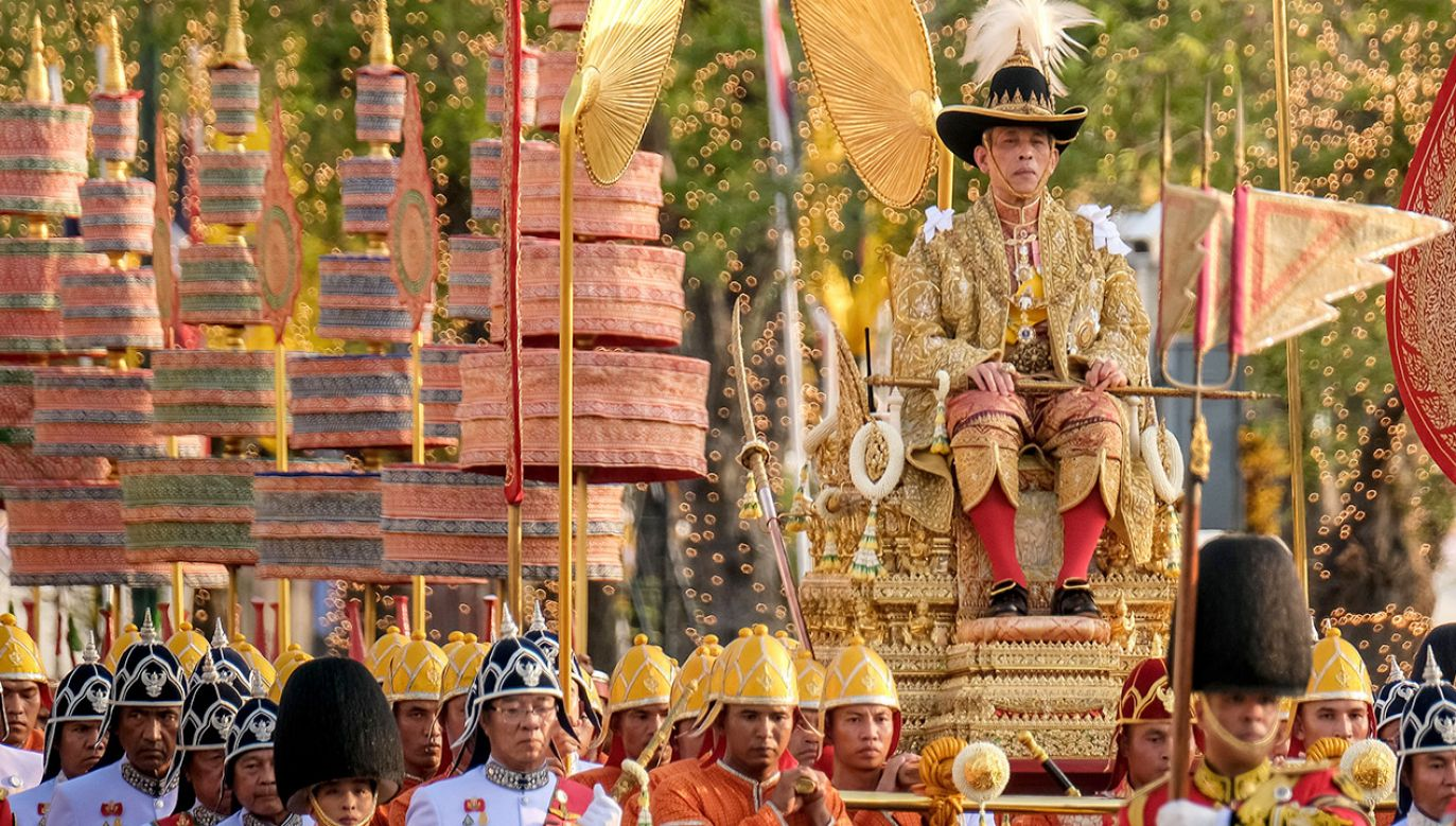 Maha Vajiralongkorn (fot. Linh Pham/Getty Images)