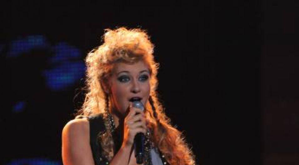Małgorzata Główka wykonała piosenkę Czerwonych Gitar (fot. TVP/I.Sobieszczuk)