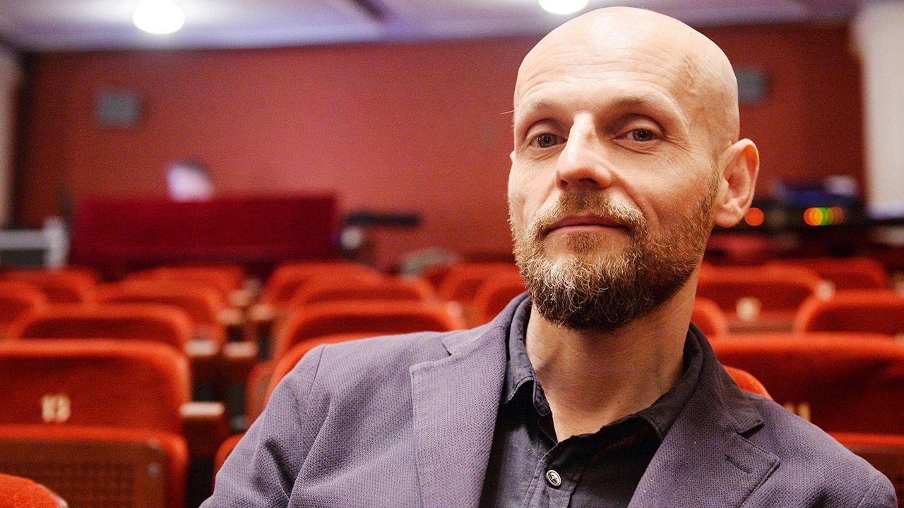 Iwan Wyrypajew należy do najbardziej cenionych reżyserów teatralnych w Europie (fot. arch. PAP/Marcin Kmieciński)