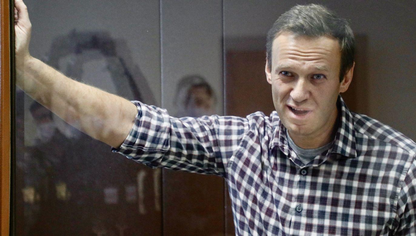 Aleksiej Nawalny (fot. PAP/EPA/YURI KOCHETKOV)